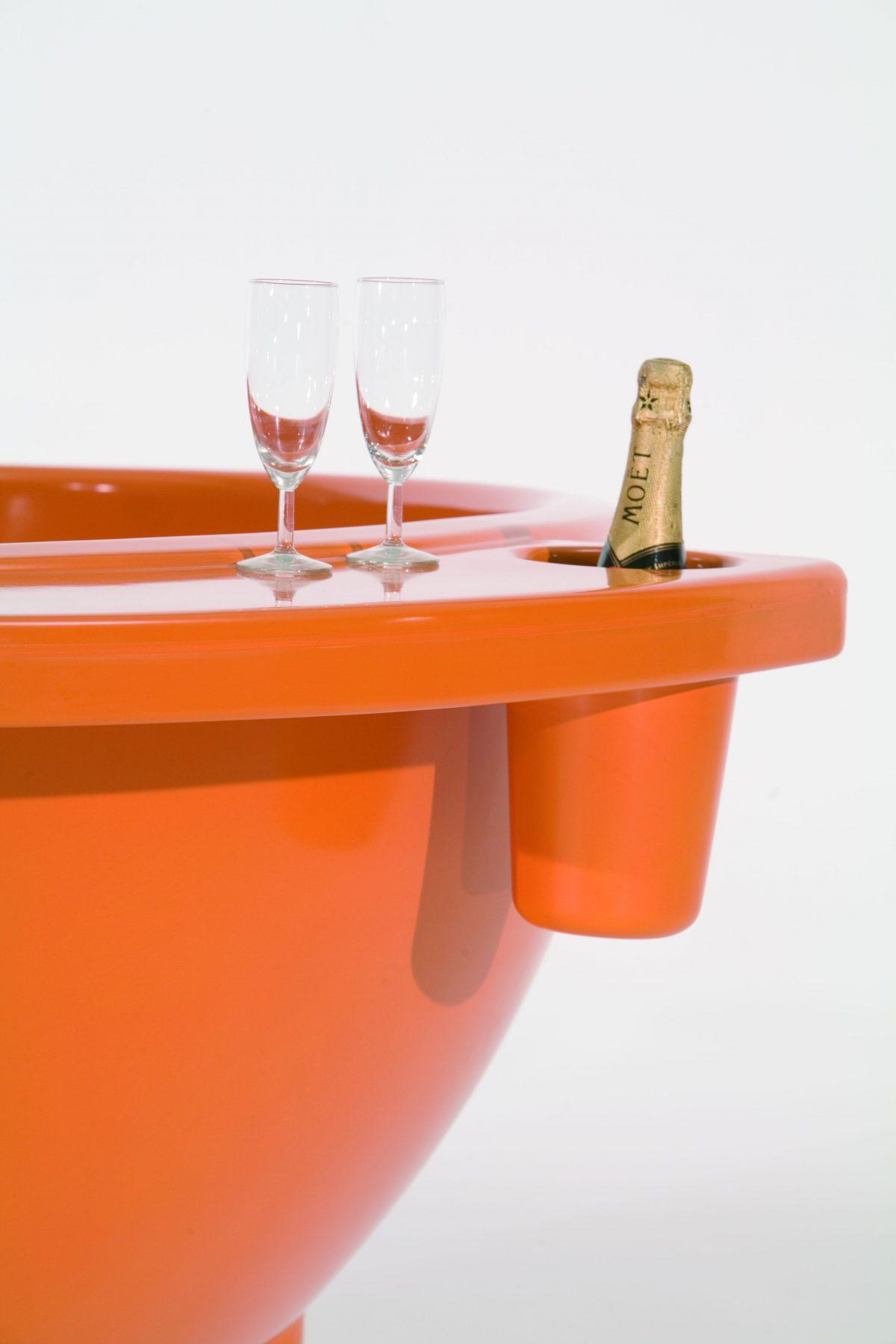Dutchtub Original Weltevree Hottub Luxe Champagnekoeler Dutch Design