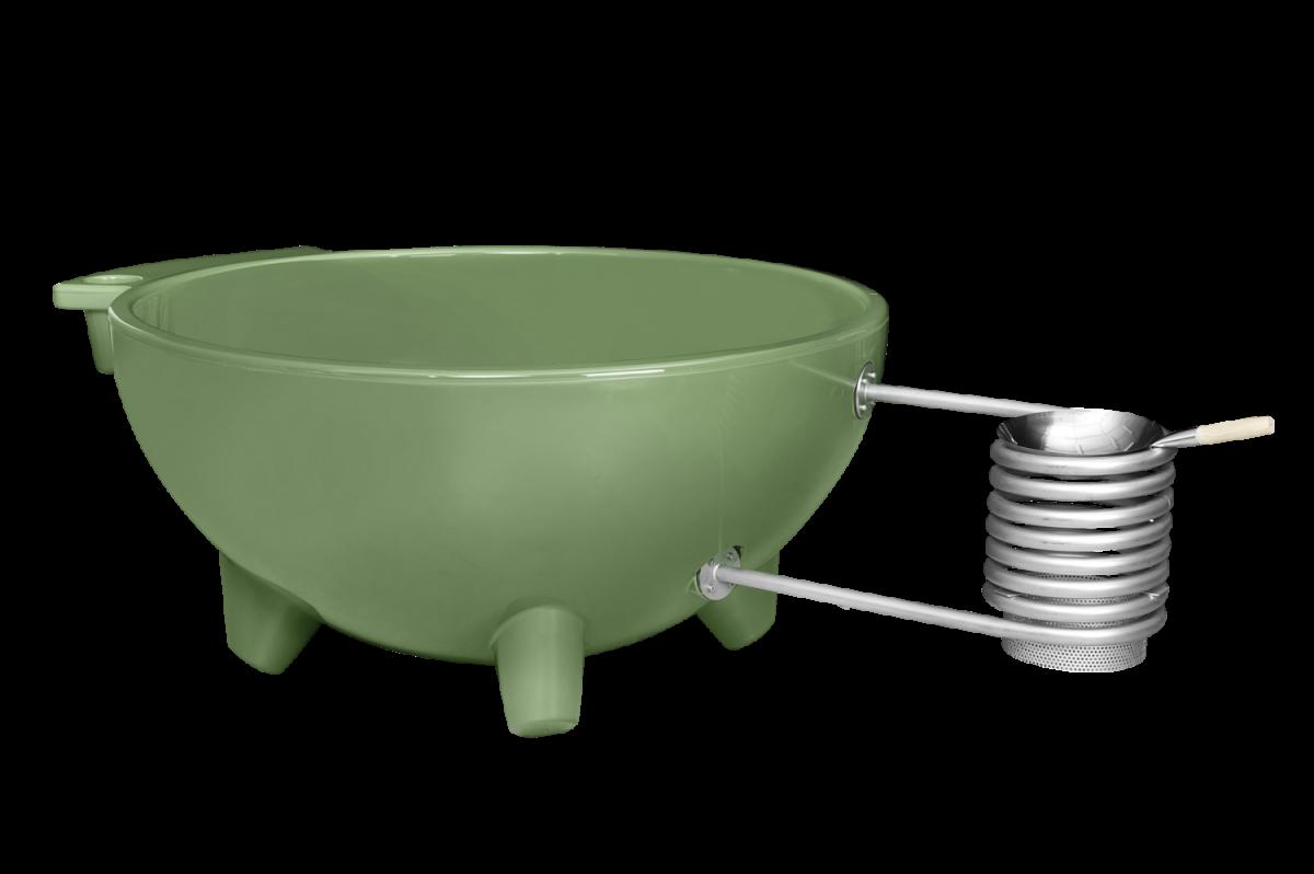 Weltevree Dutchtub Original Olive Green Groen Outdoor Design