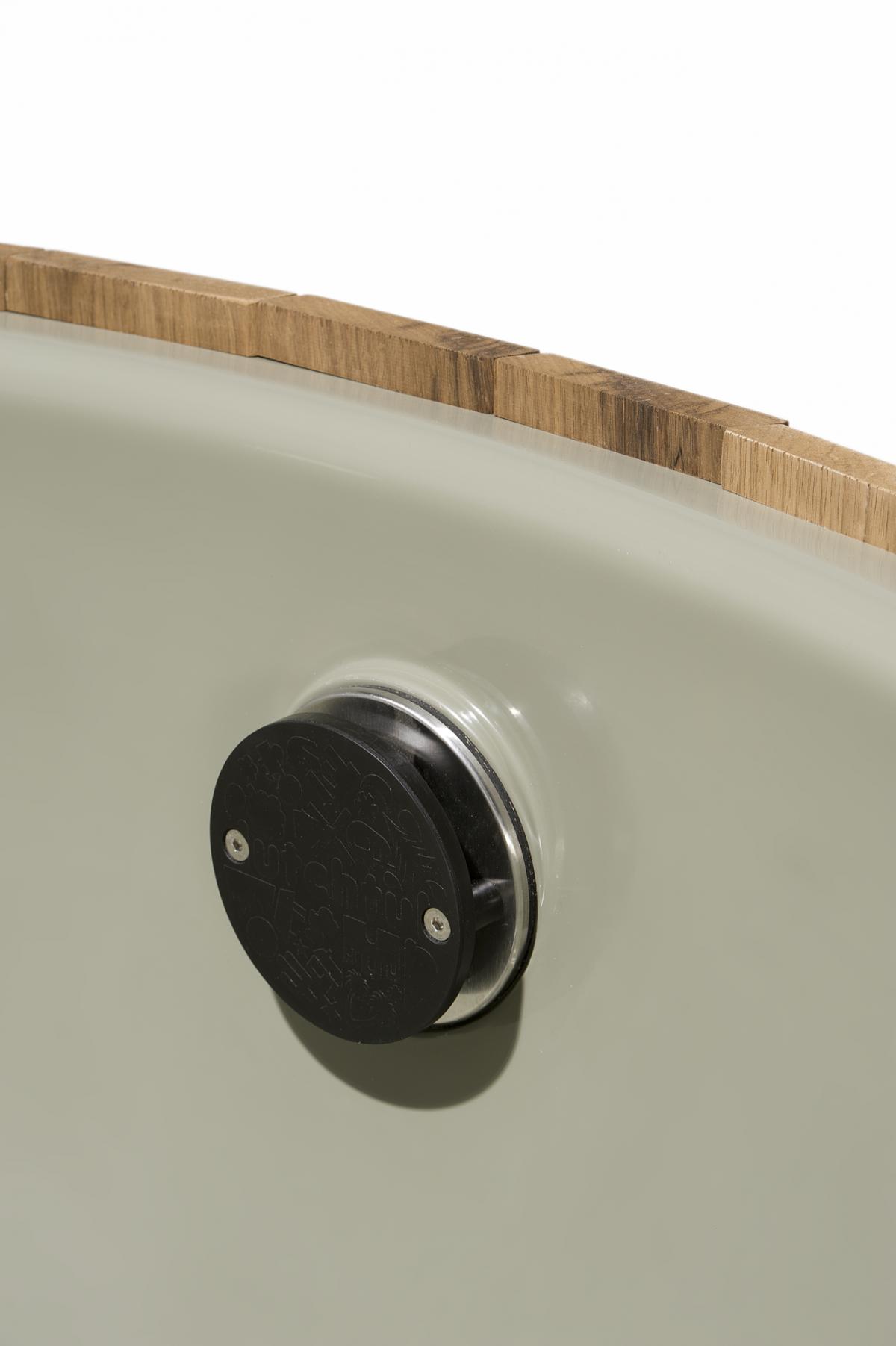 Dutchtub Wood Detail Hottub Design Outdoor