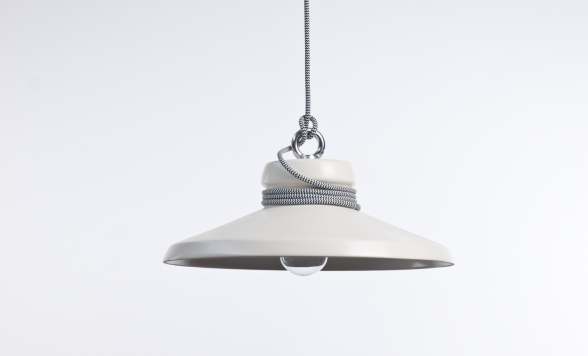 Cable light hanglamp Wide wit
