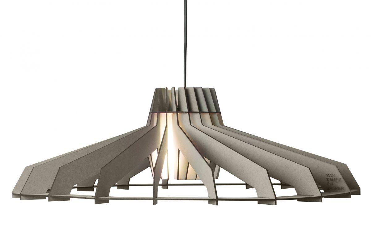 Van Tjalle En Jasper Nikolamp Tesla Hanglamp Color Soft Grey Grijs Dutch Design Verlichting