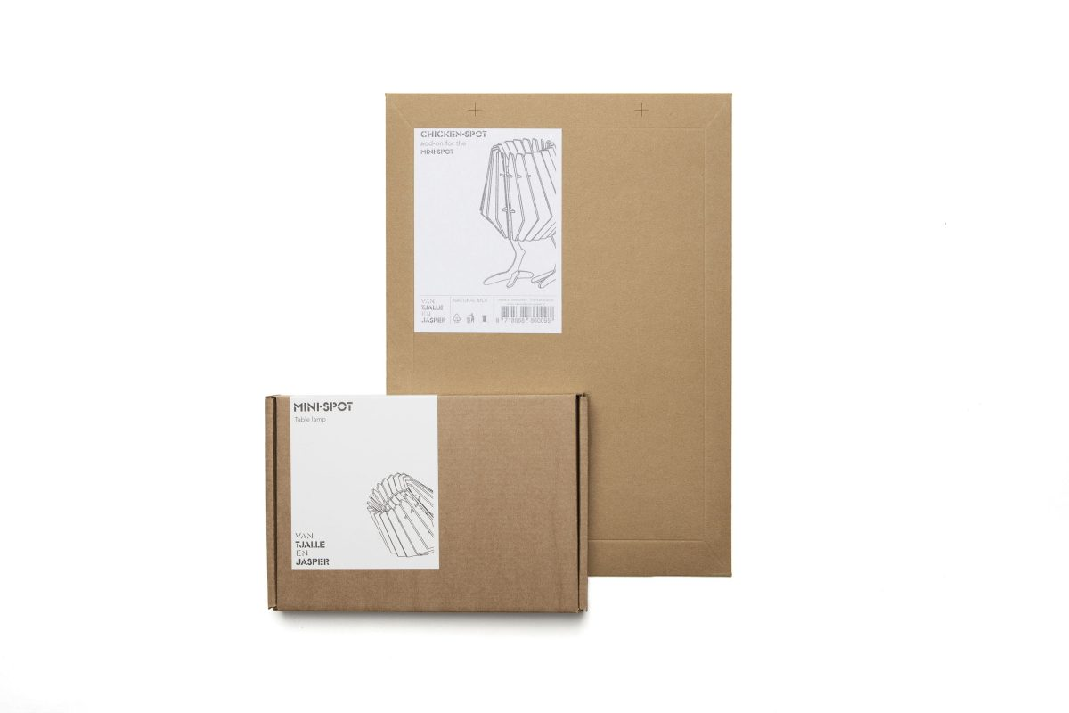 Van Tjalle En Jasper Chicken Spot Tafellamp Dutch Design Flatpack