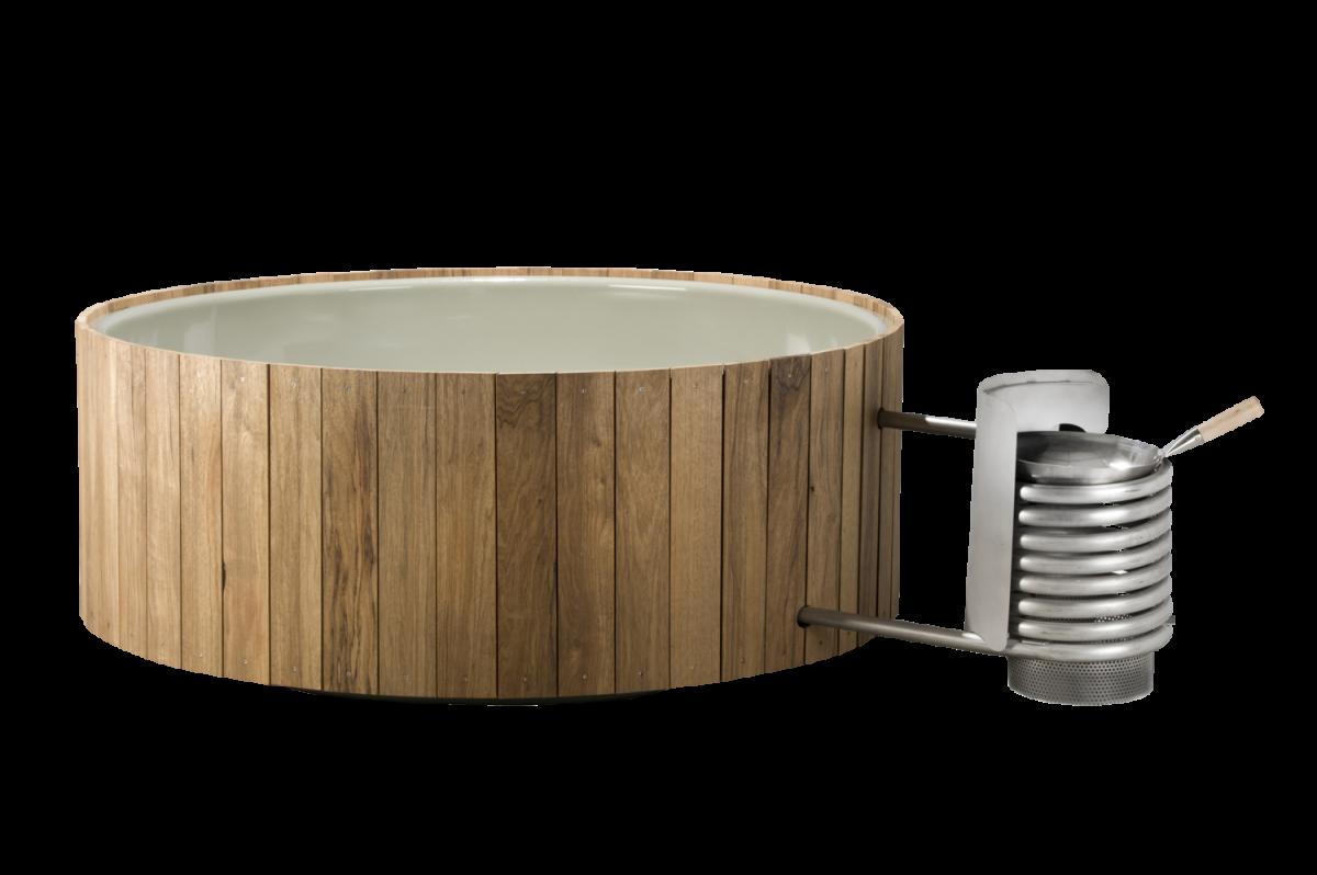 Weltevree Dutchtub Wood Hottub Outdoor Cooking