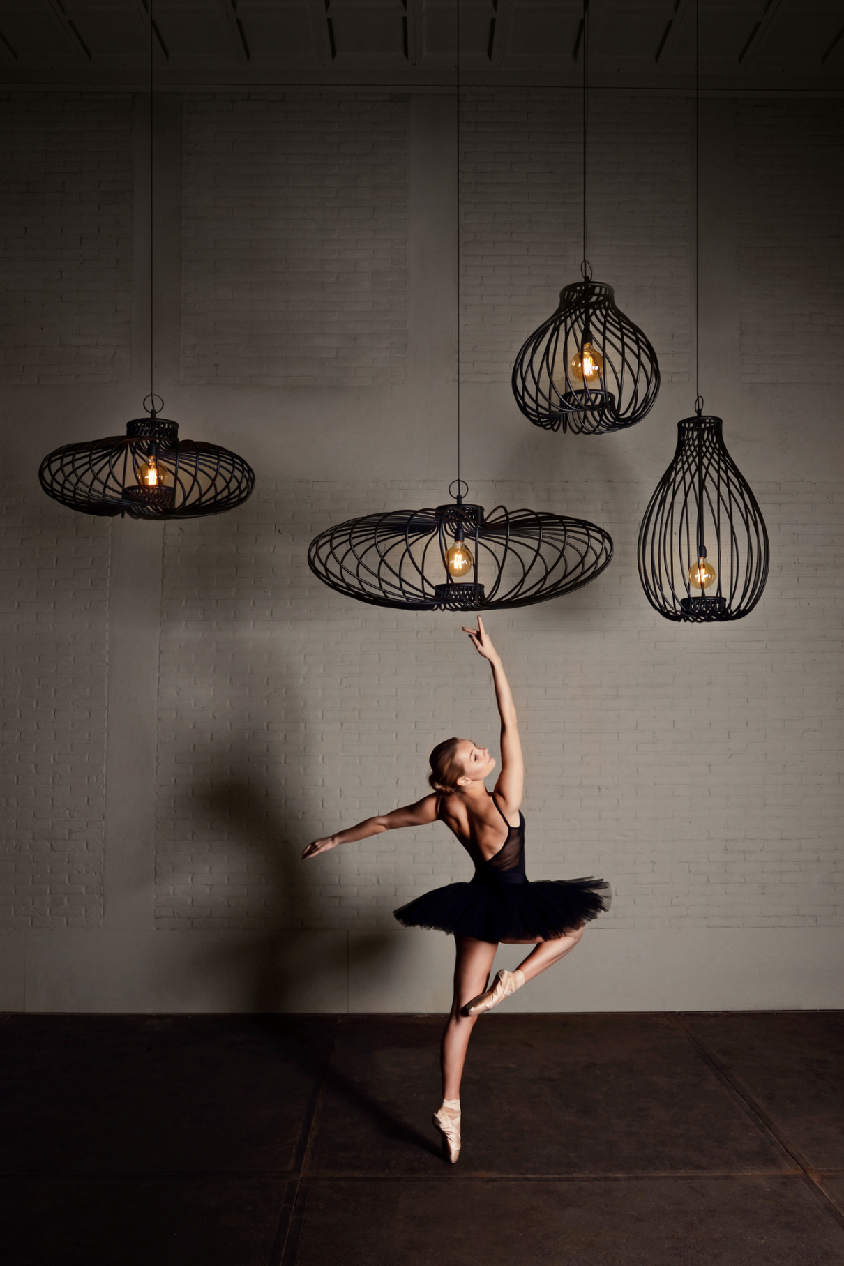 Pirouette hanglamp maakt indruk