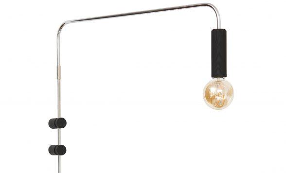 Swing wandlamp