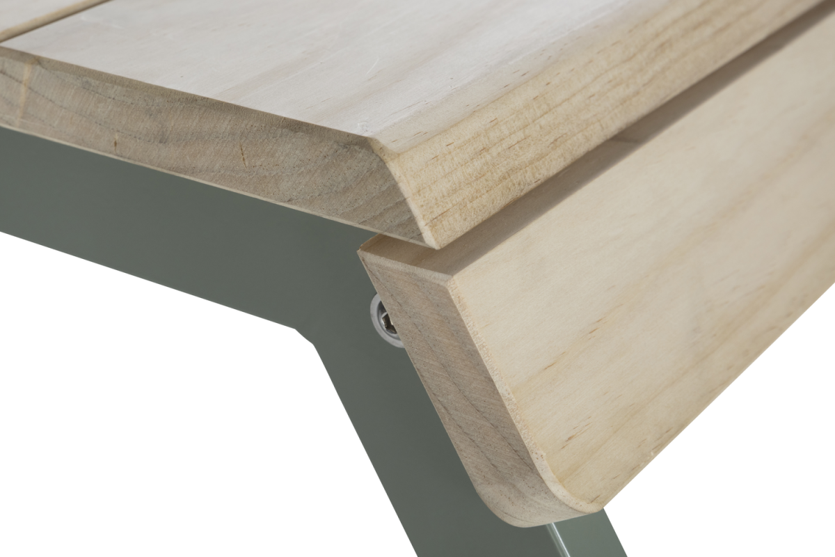 Weltevree Tablebench Tafelbank Detail Hout