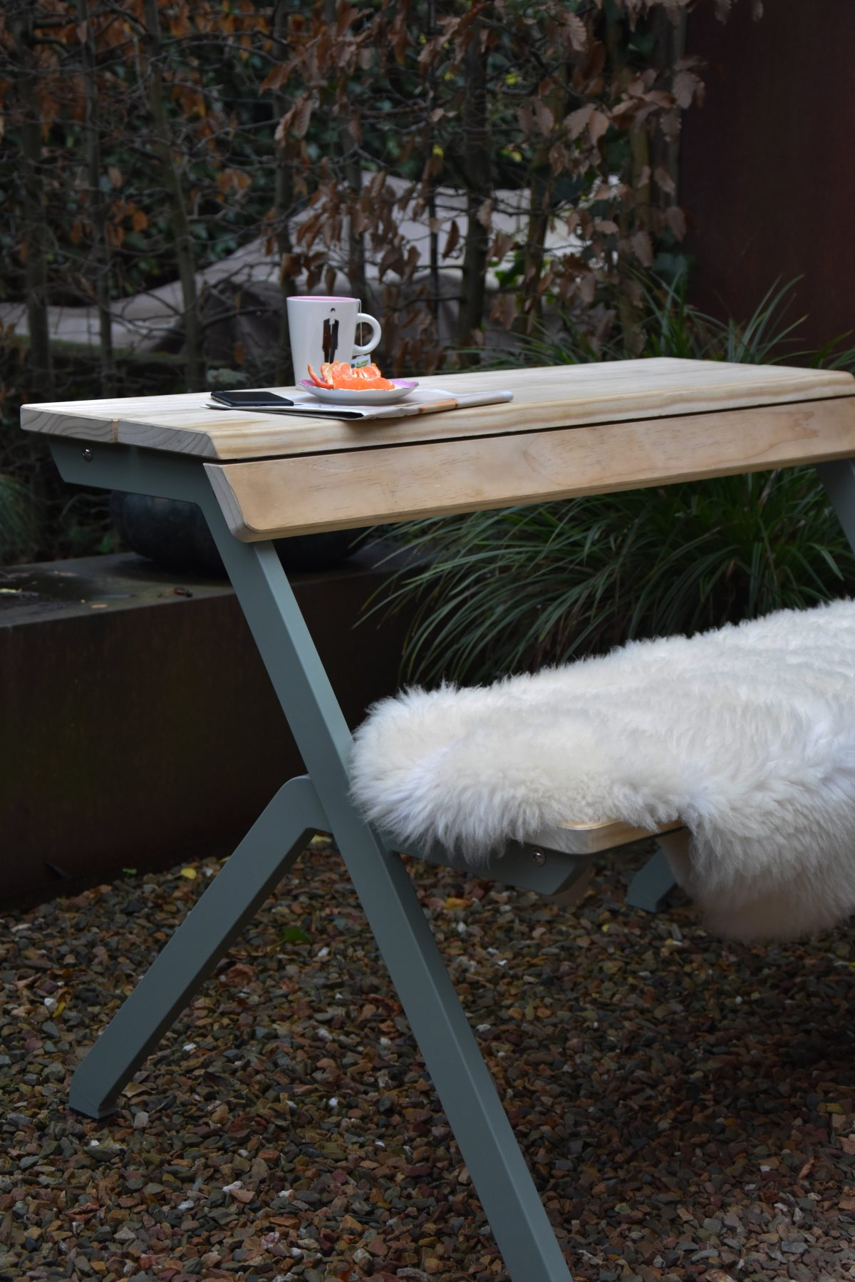 Weltevree Tablebench Outdoor Furniture Dutch Design