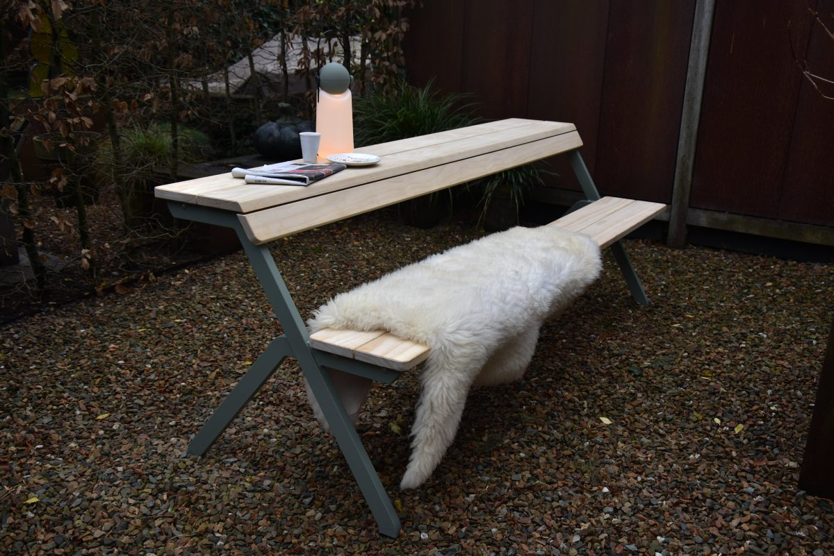 Weltevree Tablebench Tafel Bank Multifunctionele Picknicktafel Werkplek