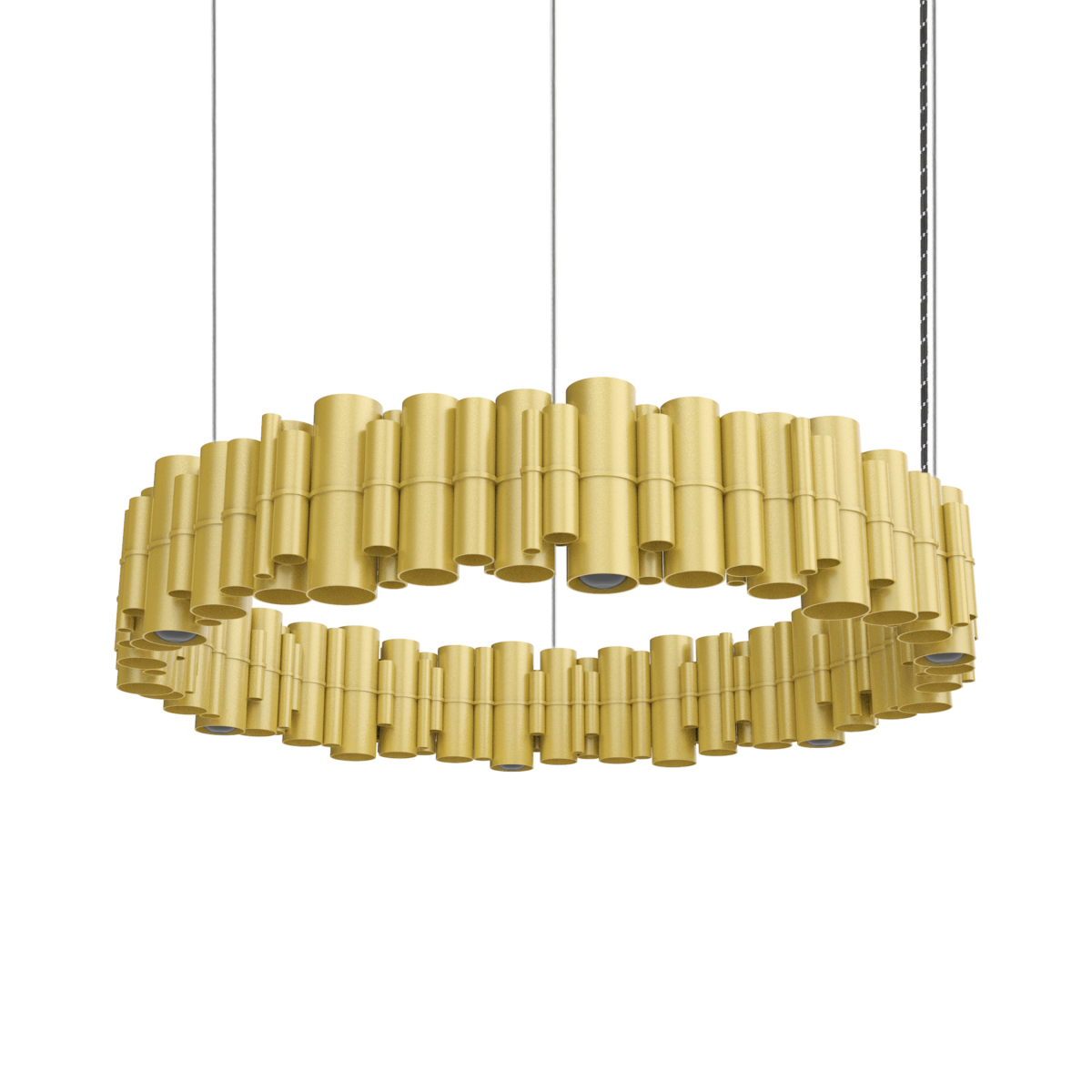 JSPR Cityscapes Suburban OFF Gold Goud Dutch Design Lamp