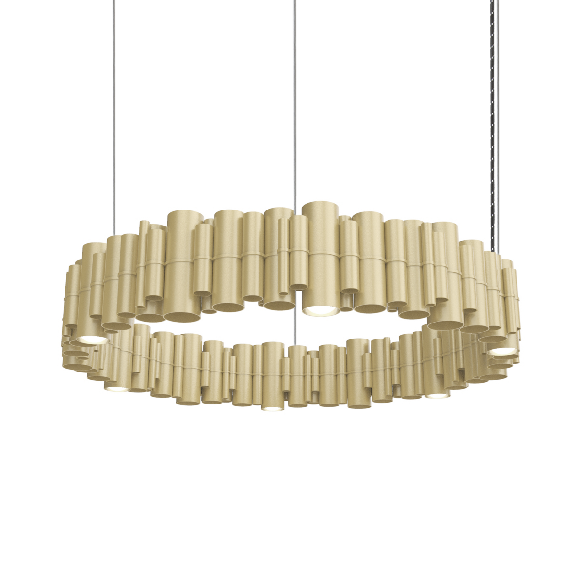JSPR Cityscapes Suburban ON Champagne Hanglamp