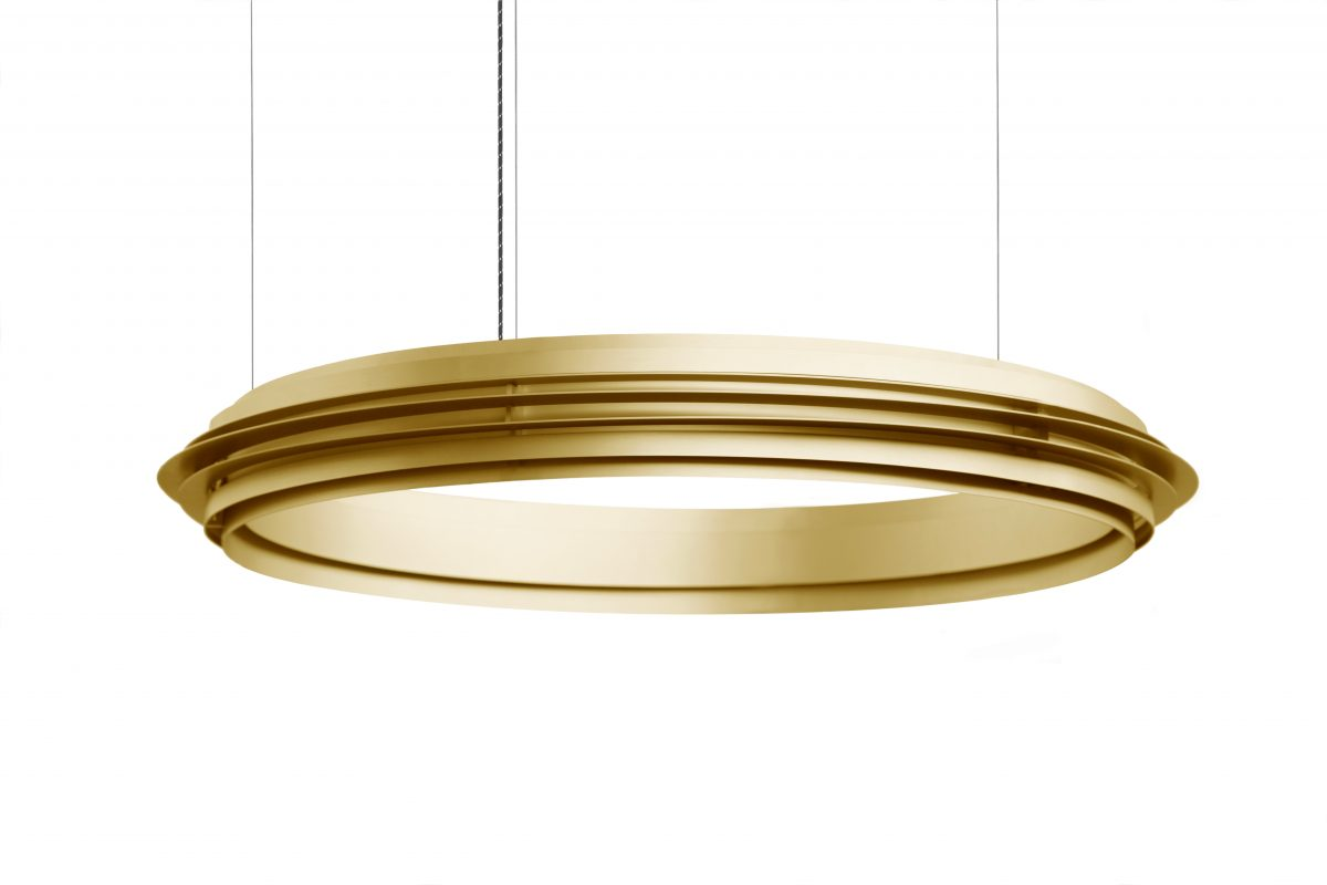 Jspr Empire II Gold Lamp