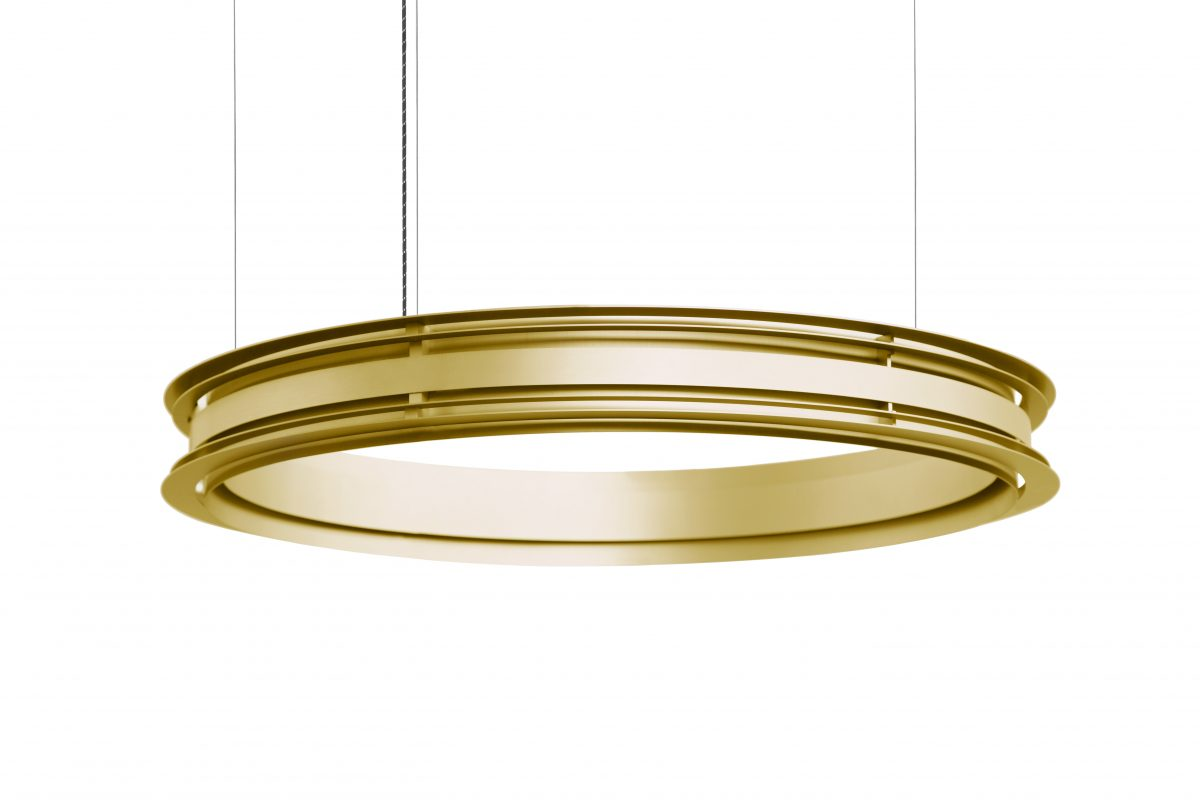 Jspr Empire III Gold Goud Dutch Design Lamp