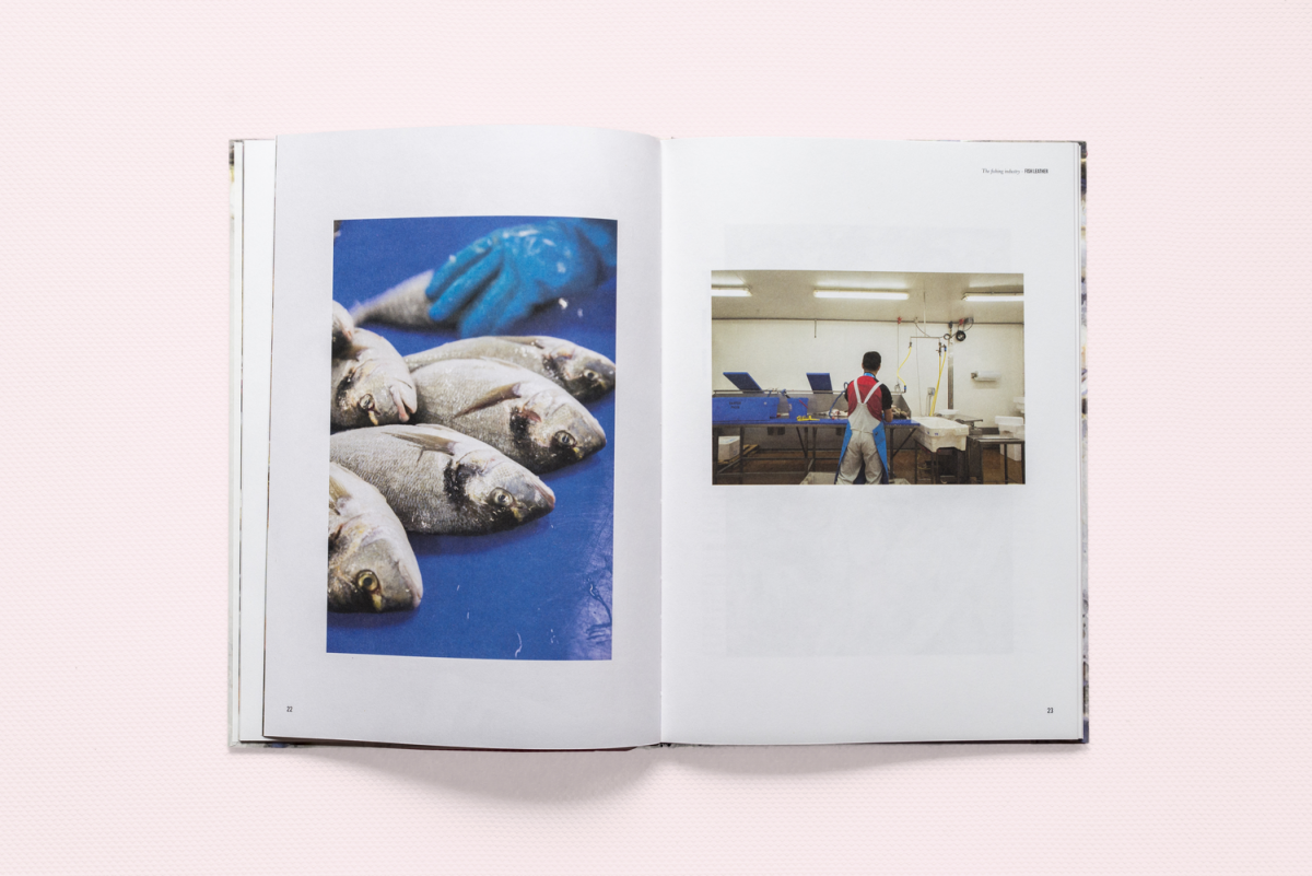 Nienke Hoogvliet Fish Leather Boek Vegetarische Inkt 1