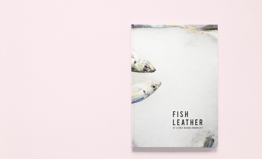 Fish leather boek