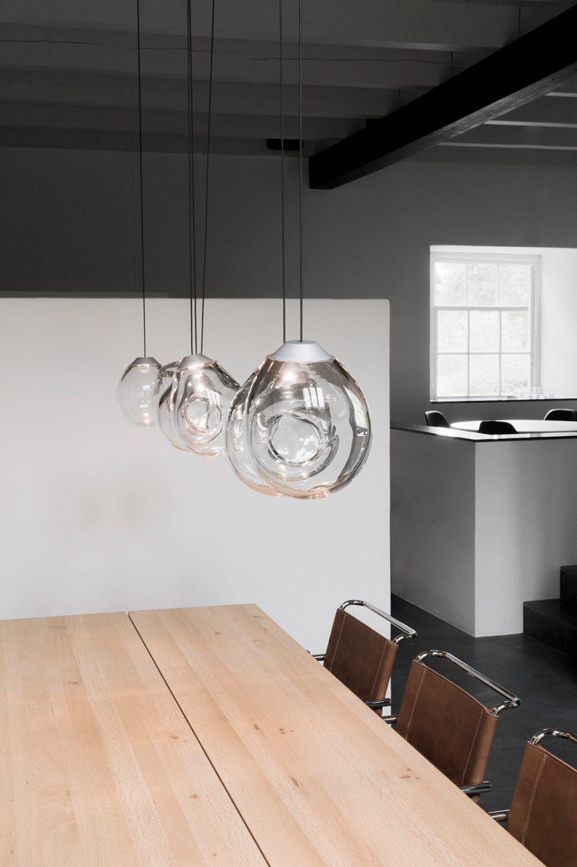 Momentum Hanglamp Glas Alex De Witte