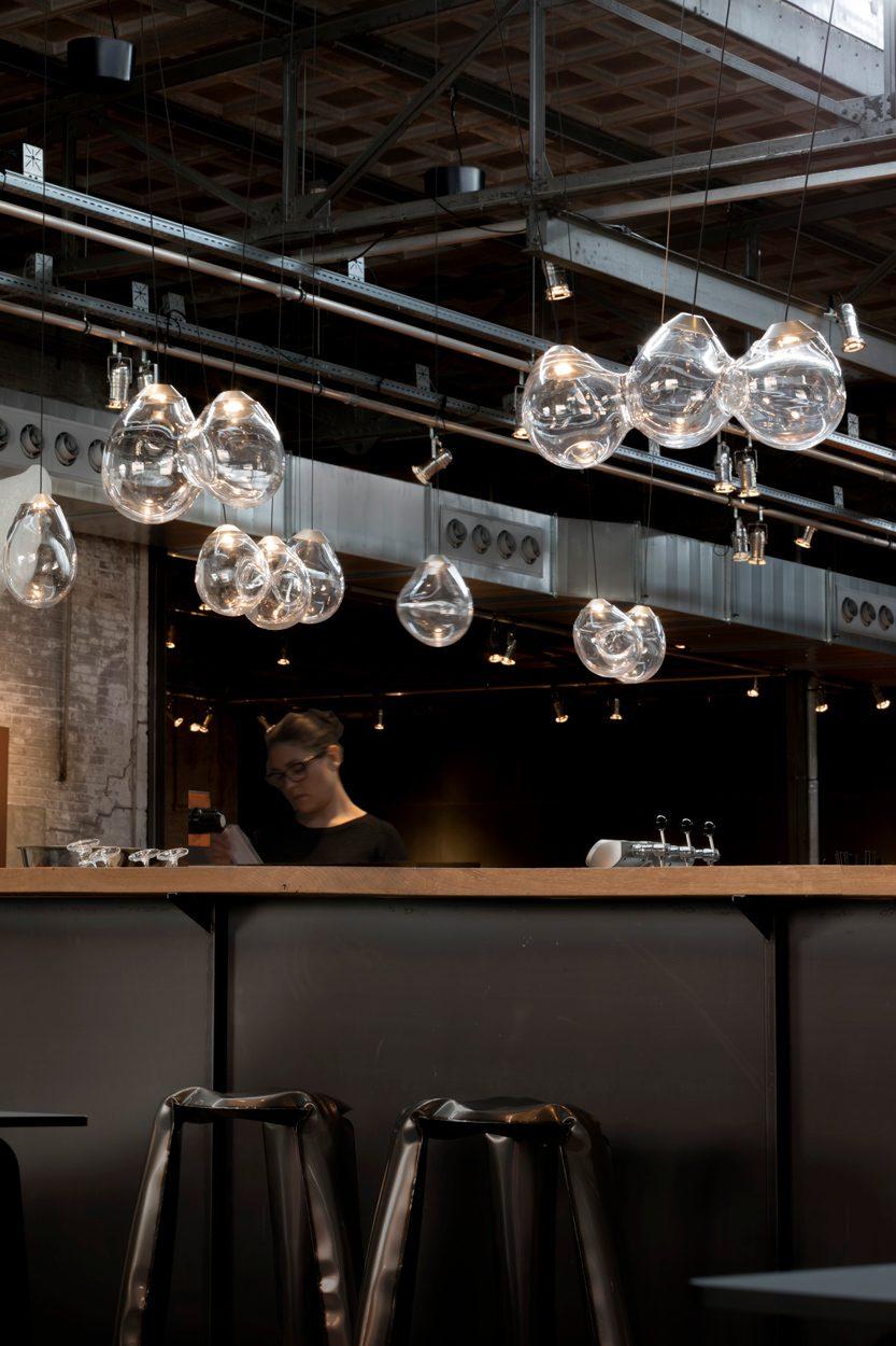 Momentum Hanglamp Glas Alex De Witte Cafe
