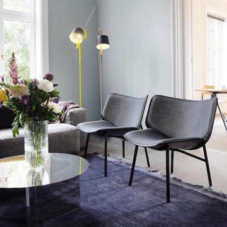 Dapper Lounge Chair Hay Mood 2 Square H500