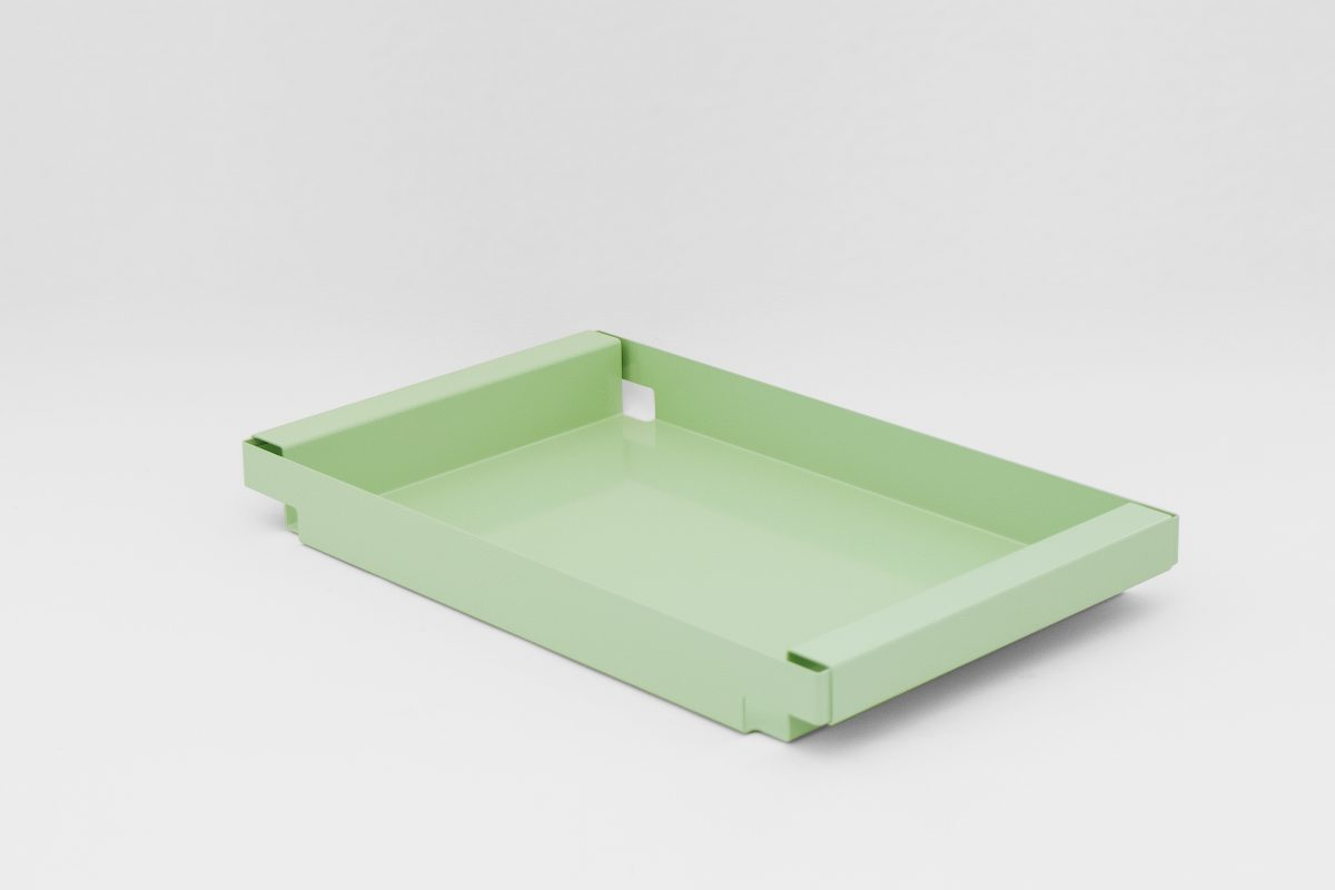 Dean Tray New Duivendrecht design Peter van de Water dienblad groen Dutch Design