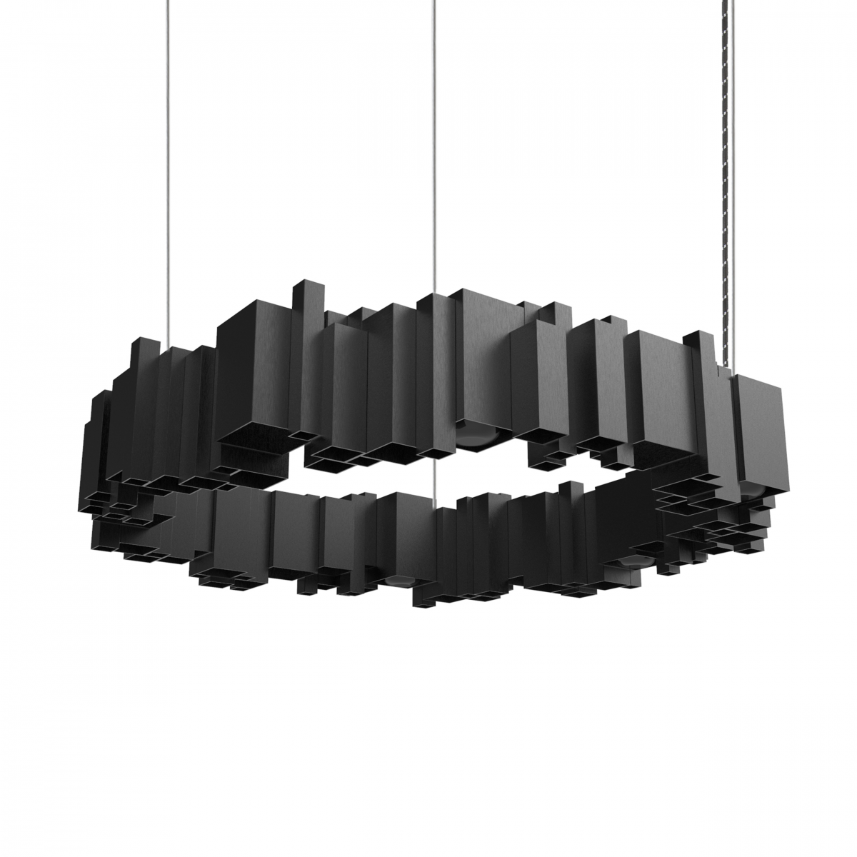 JSPR Cityscapes Urban OFF Black Zwart Lamp Project