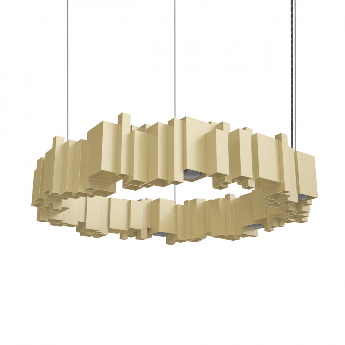JSPR Cityscapes Urban OFF Champagne Hanglamp Dutchdesign