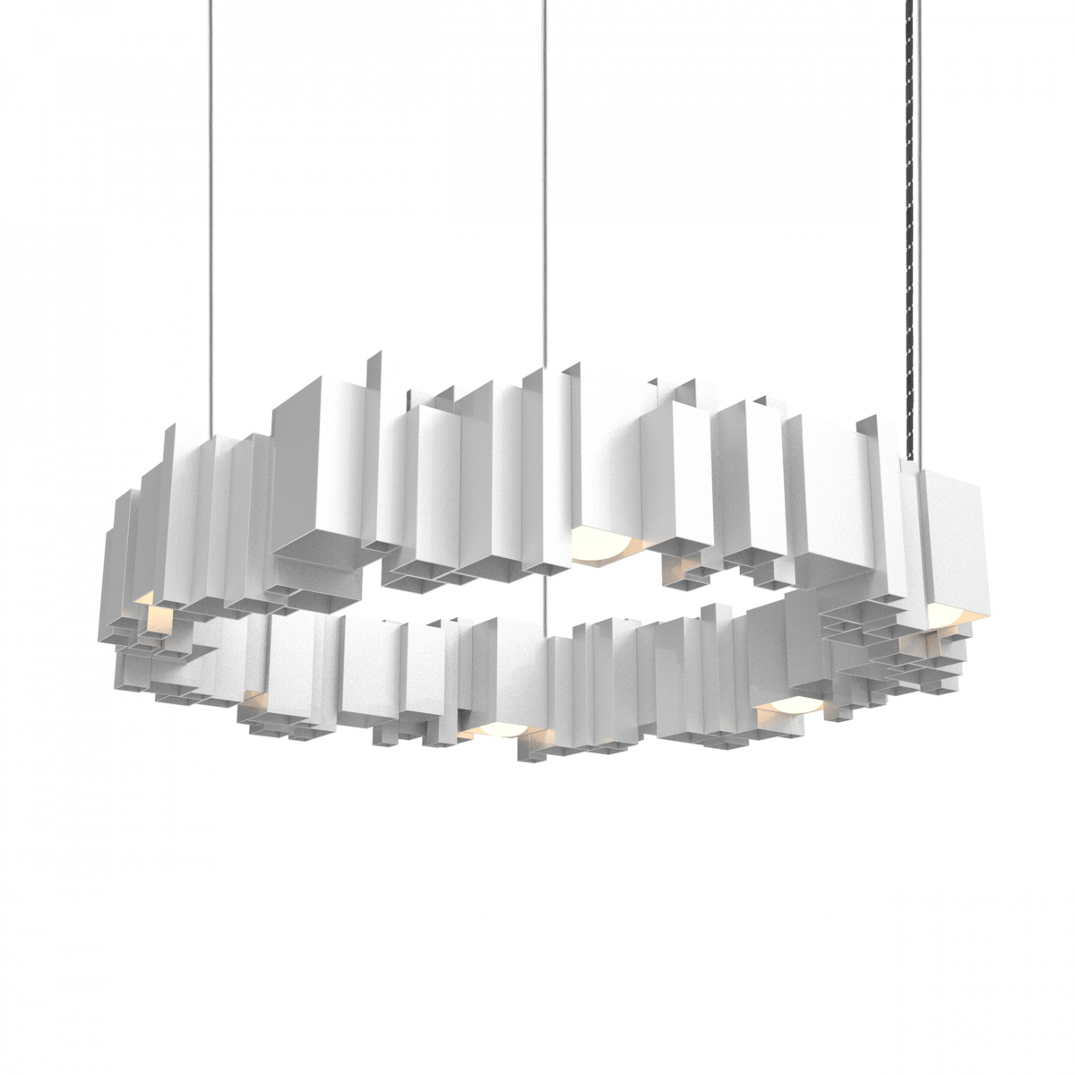 JSPR Cityscapes Urban ON Silver Zilver Exclusieve Lamp