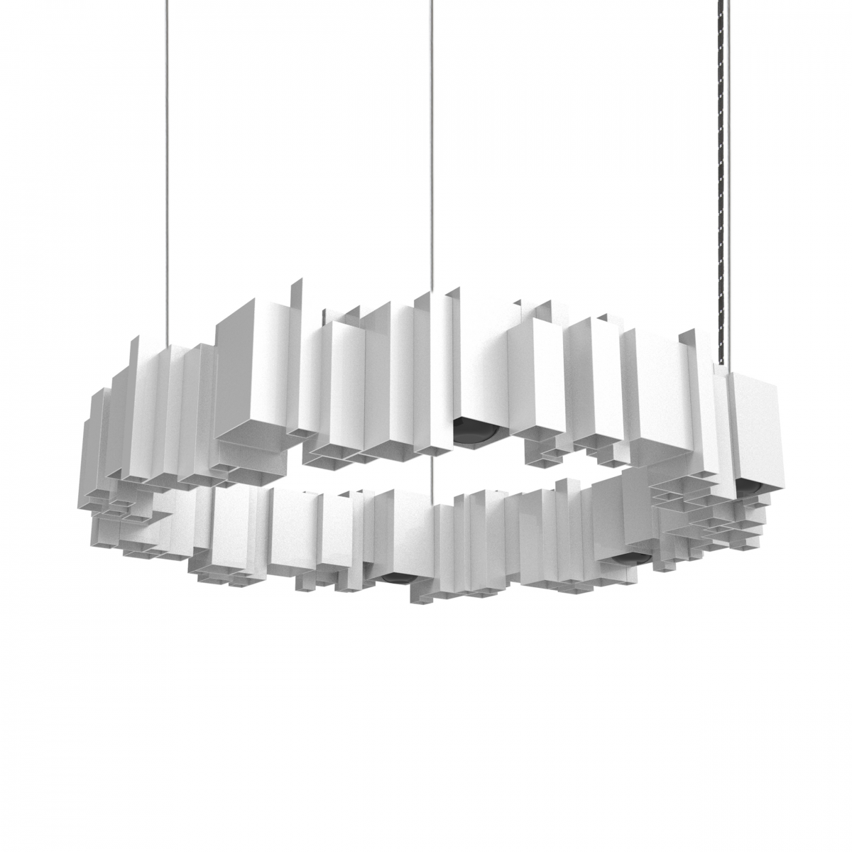 JSPR Cityscapes Urban Lamp OFF Silver Zilver