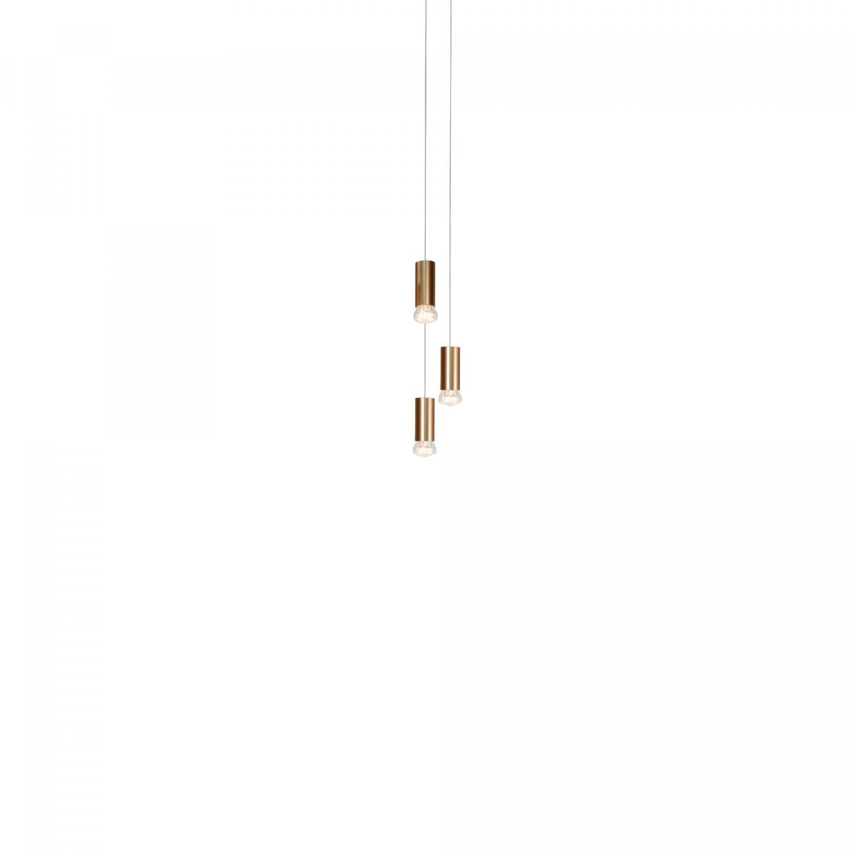 JSPR Jewels Straight 3 Bronze Exclusieve Dutchdesign Verlichting