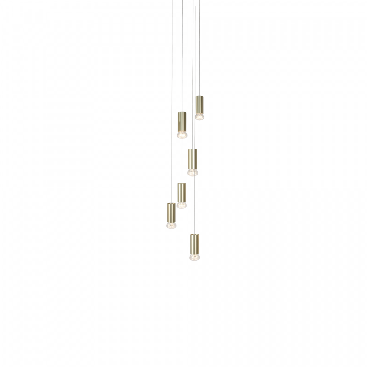 JSPR Jewels Straight 6 Champagne Hanglamp