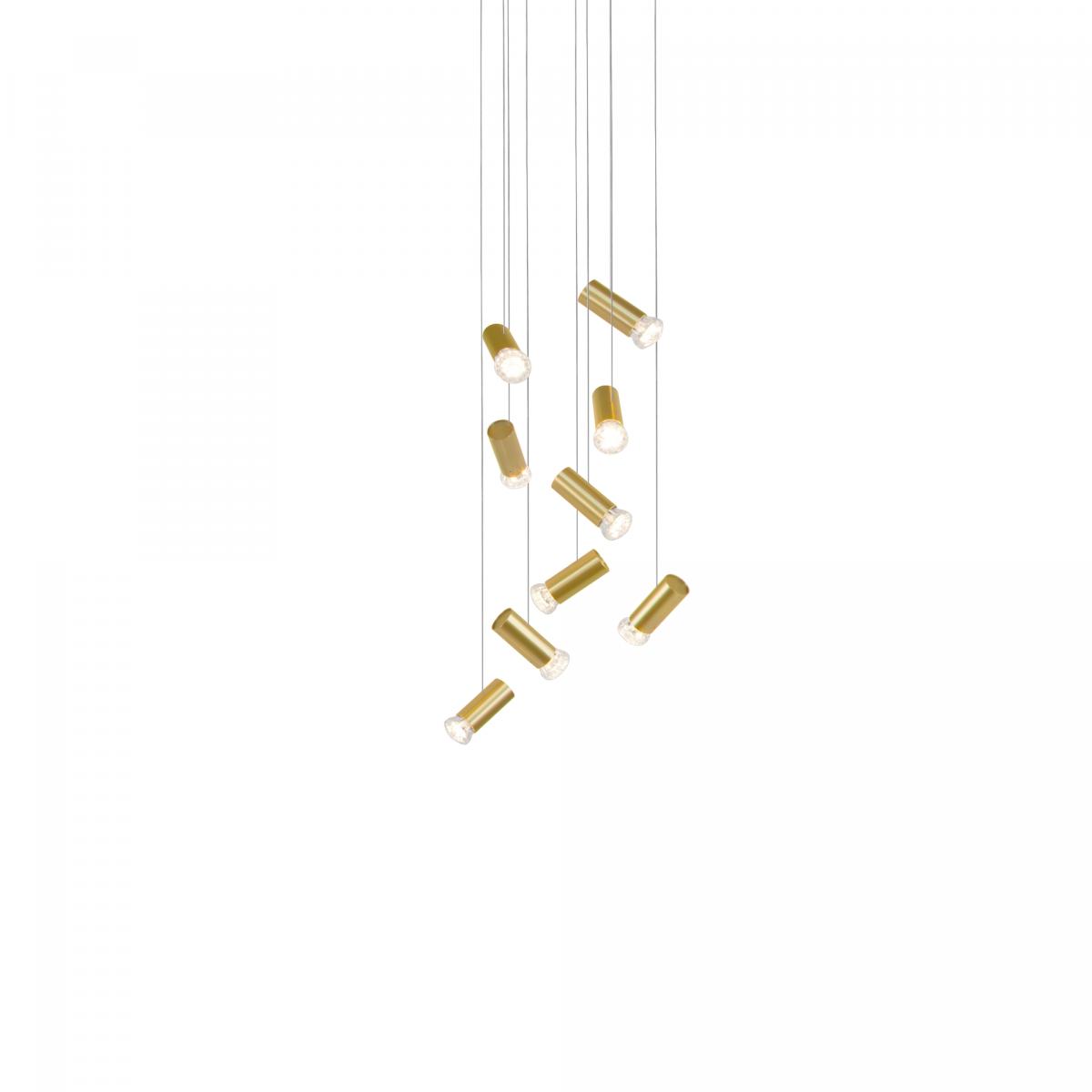 JSPR Jewels Angled 9 Gold Exclusieve Dutchdesign Verlichting