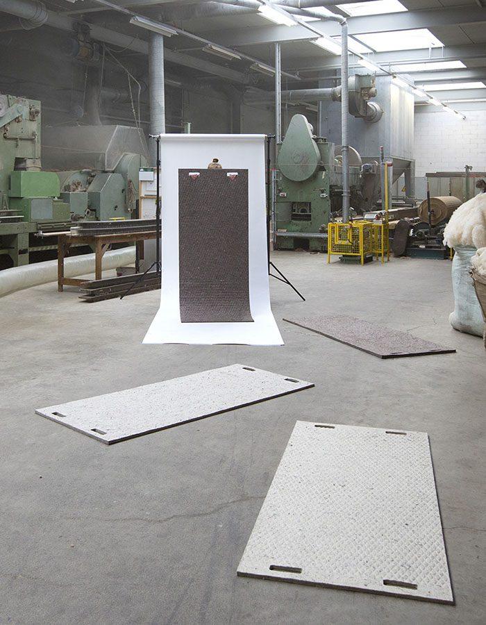 LABELBREED Carpet Wool PLA Biologisch Afbreekbaar Dutchdesign Tapijt Christien Meindertsma