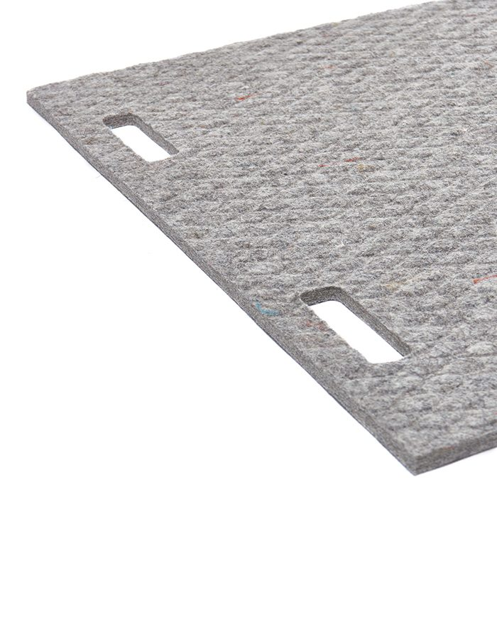 LABELBREED Carpet Wool Grey Line Grijs Lijn Patroon Christien Meindertsma
