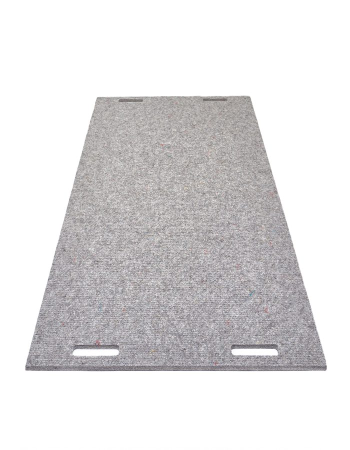 LABELBREED Carpet Wool Grey Line Grijs Lijn Patroon Akoestisch Tapijt Wand Vloer Christien Meindertsma