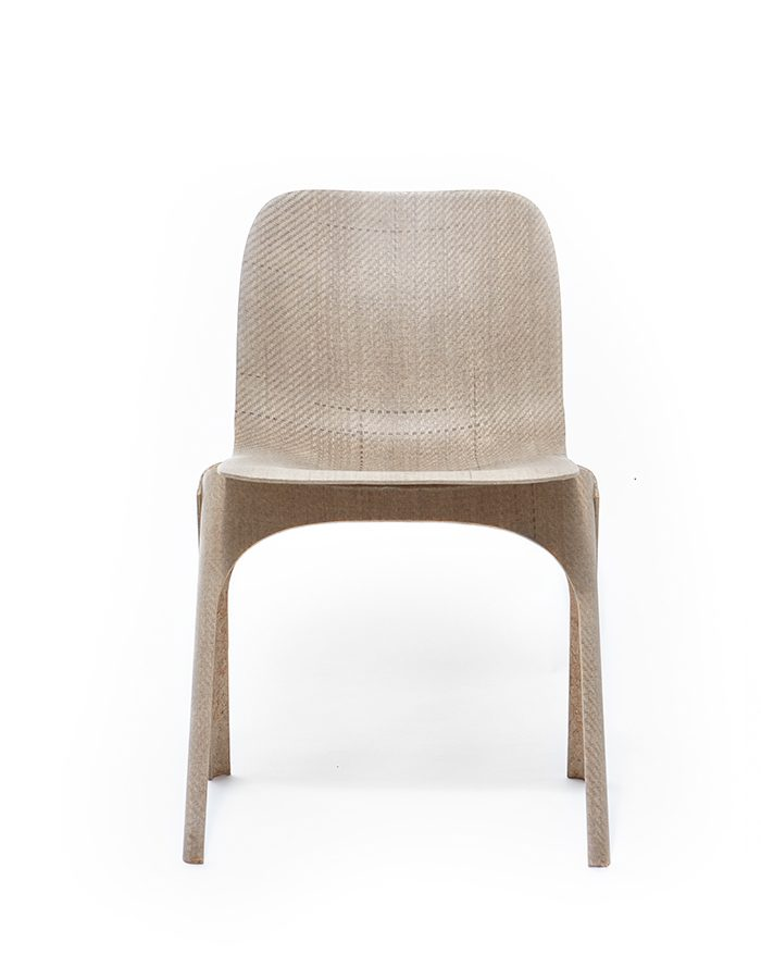 LABELBREED Flax Chair Christien Meindertsma Dutchdesign Stoel Vlas