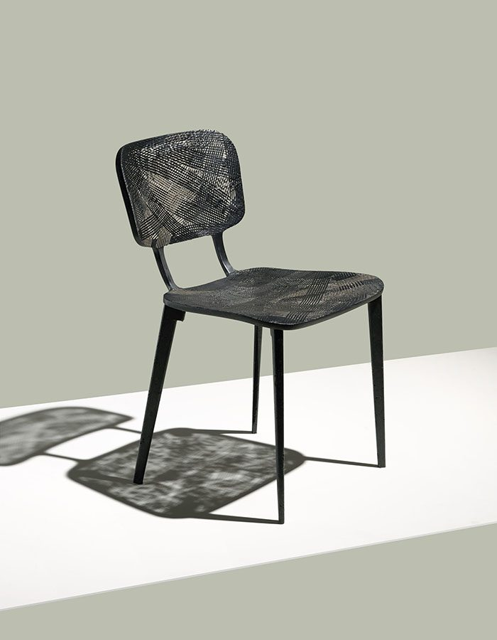 LABELBREED Recycled Carbon Chair Marleen Kaptein