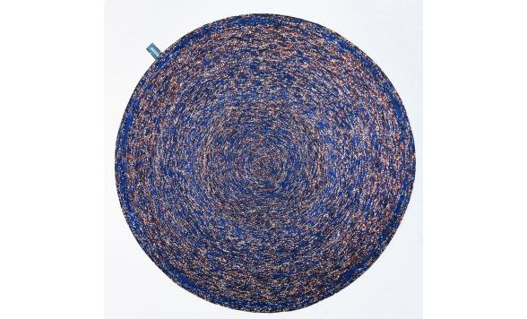 Vlisco Recycled Carpet paars (05-150-002)