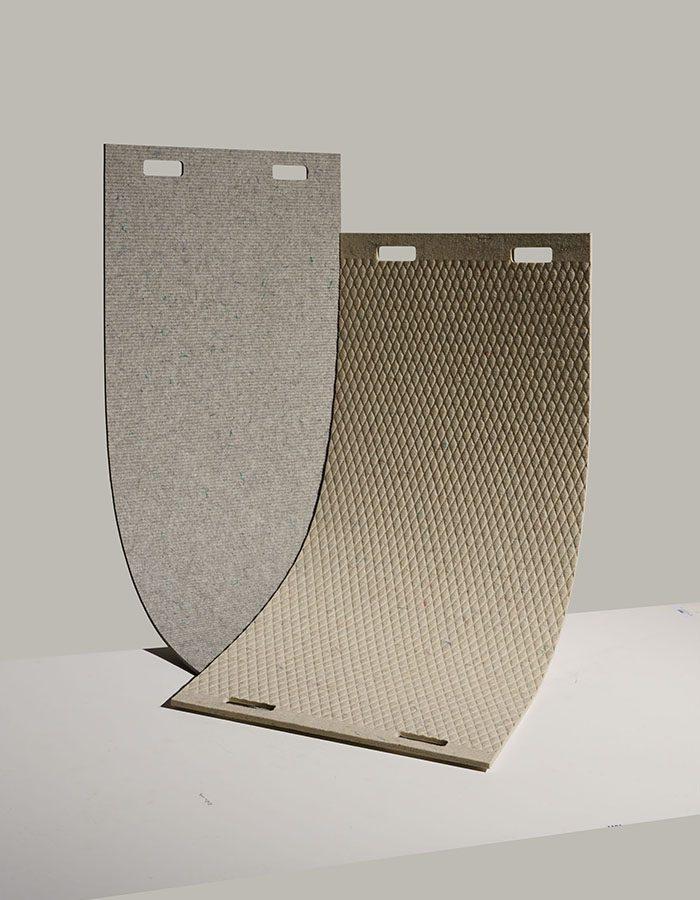 LABELBREED Wool PLA Carpet Christien Meindertsma Biologisch Afbreekbaar