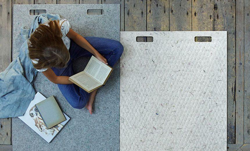 Wool & Bio-Based Plastic Carpet