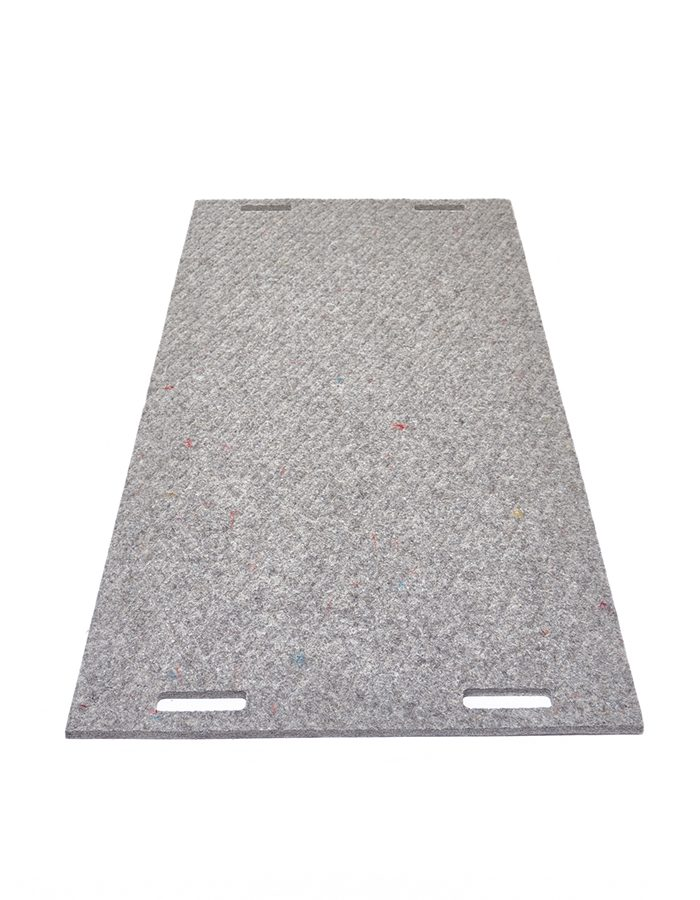 LABELBREED Wool Carpet Grey Grid Grijs Rooster Patroon Ruit Christien Meindertsma