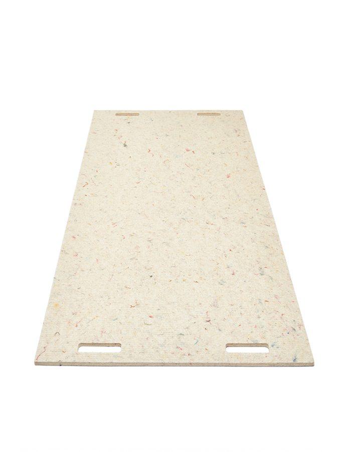 LABELBREED Tapijt Wool White Line Gebroken Wit Lijn Christien Meindertsma