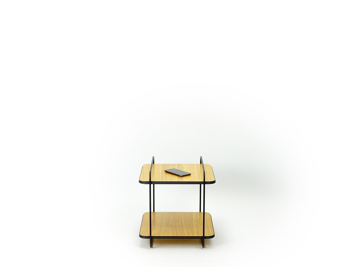 New Duivendrecht 8 Frame Cabinet Oak 2 Shelves Eiken Bijzettafel Kastje Project Hotel Dutch Design