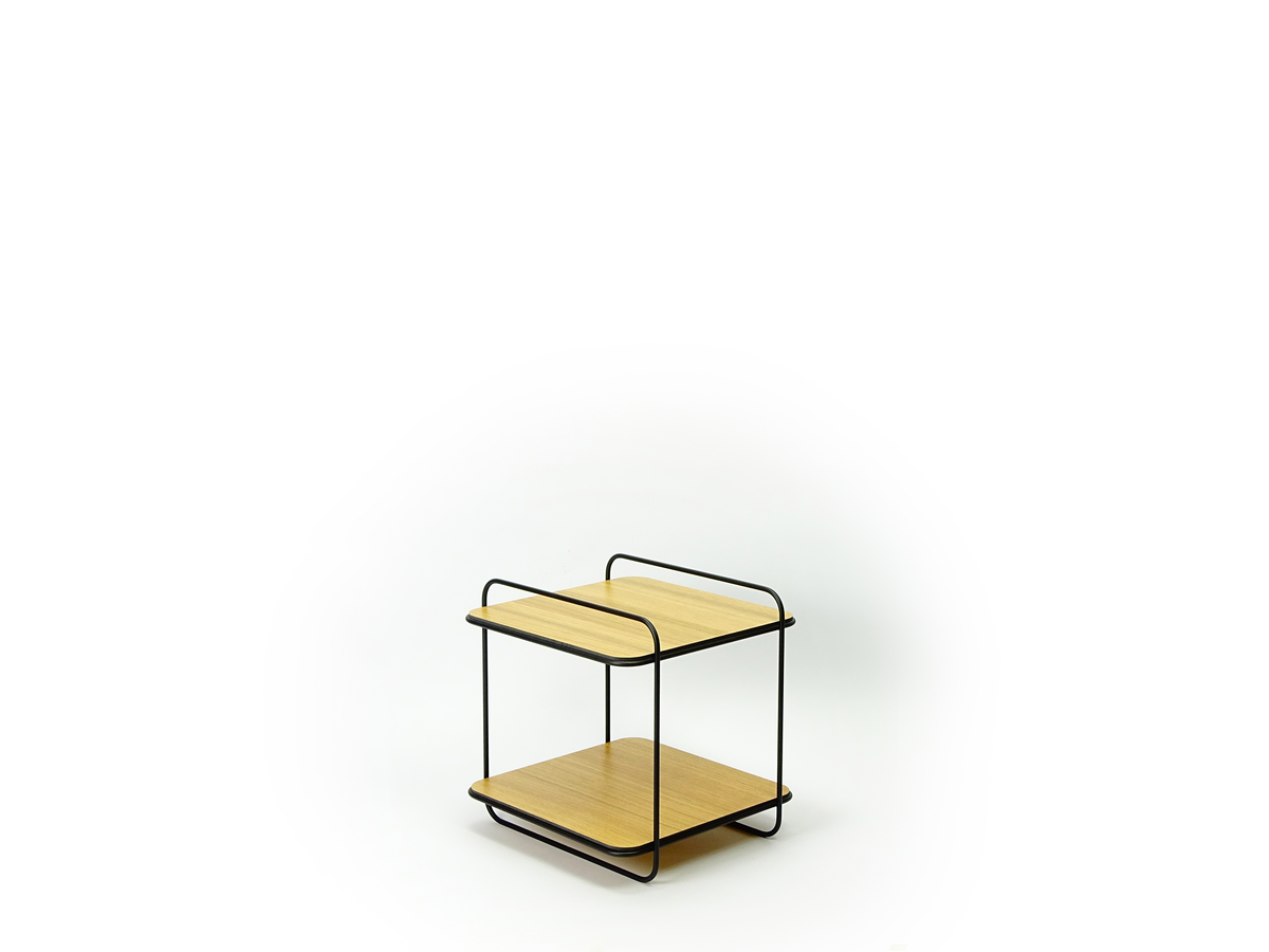 New Duivendrecht 8 Frame Cabinet Oak 2 Shelves Eiken Tafeltje Project