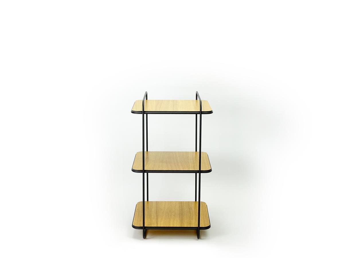New Duivendrecht 8 Frame Cabinet Eiken 3 Shelves Eiken Tafeltje Basten Leijh