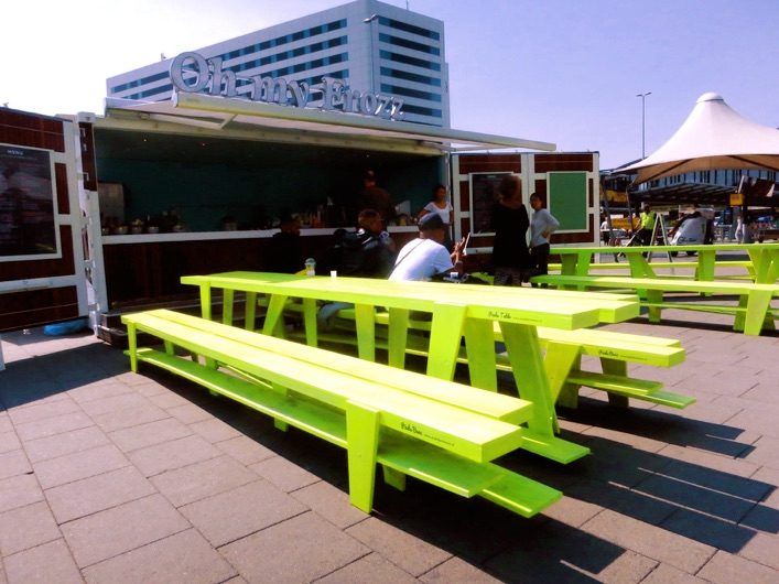 Sept Pieds Roof Terrace Bench Bank New Duivendrecht