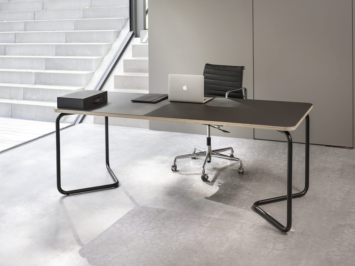 Functionals KUMPEL Table Black Charcoal 200X80 Project Tafel