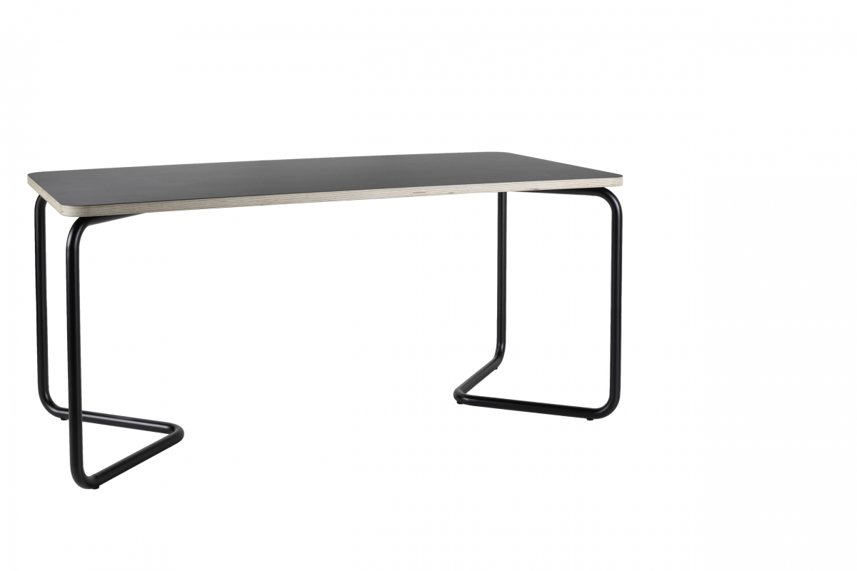 Kumpel Tafel Table 160×80 Zwart Charcoal Black