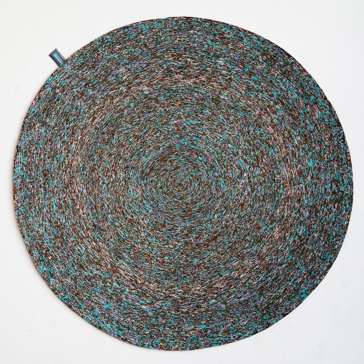 Vlisco Recycled Carpet (29-150) aqua