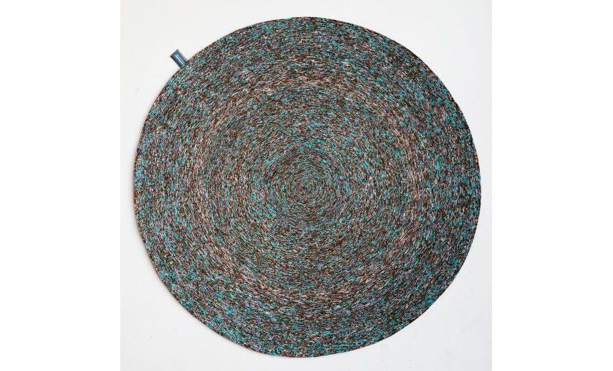 Vlisco Recycled Carpet (29-150) aqua