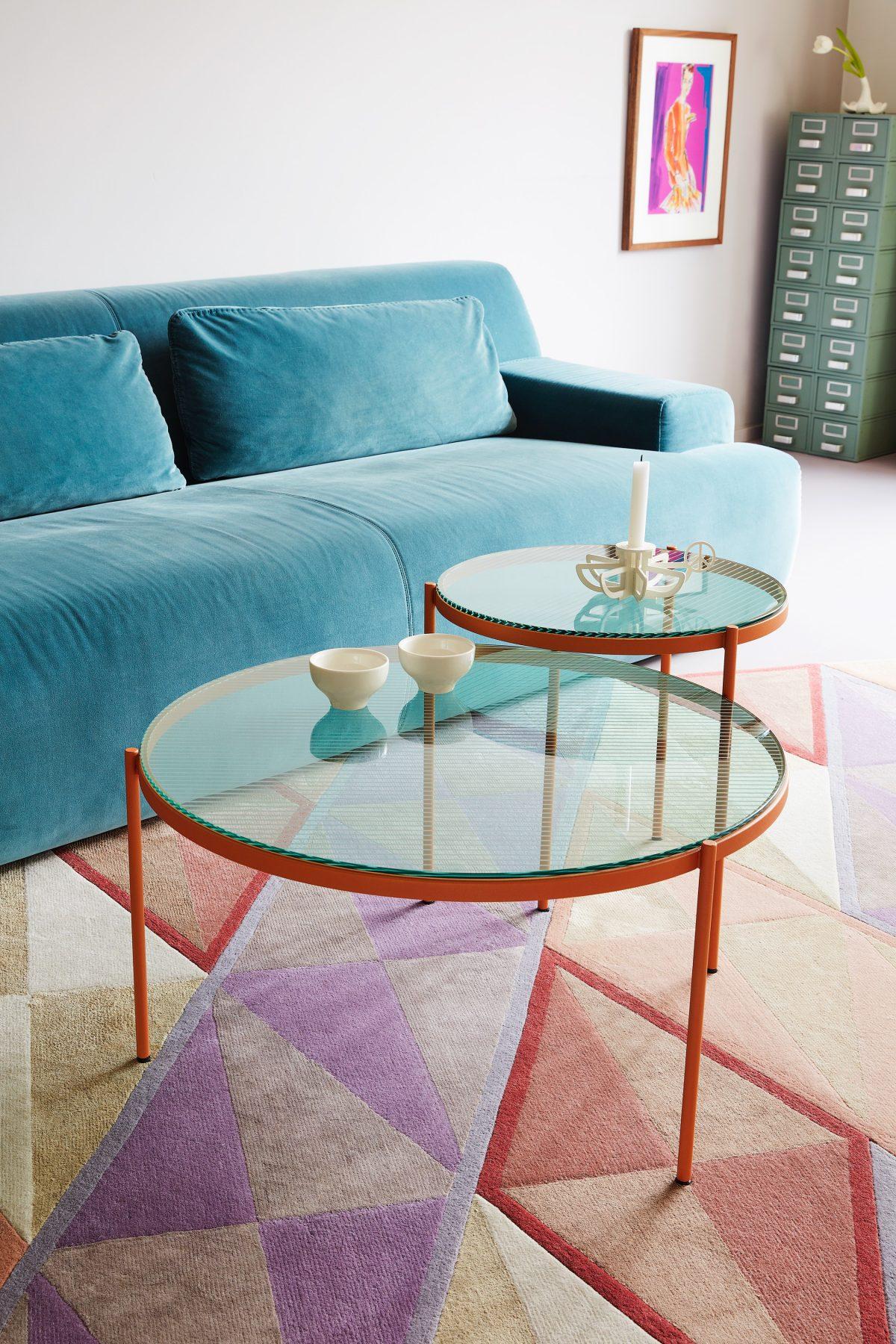 LYN salontafel set rond
