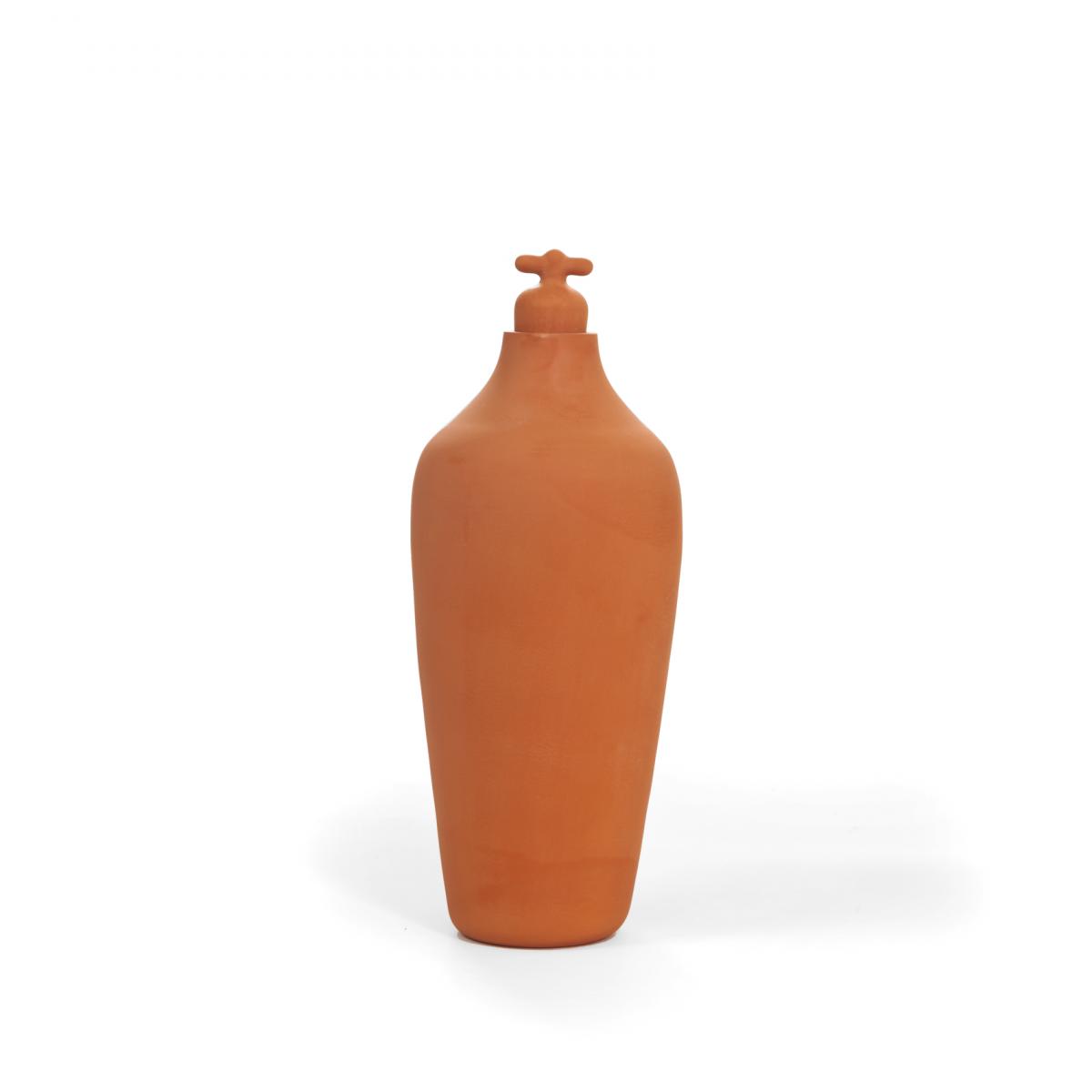 Vij5 Tap Water Carafe Variant Dune Water Terracotta Karaf Oranje
