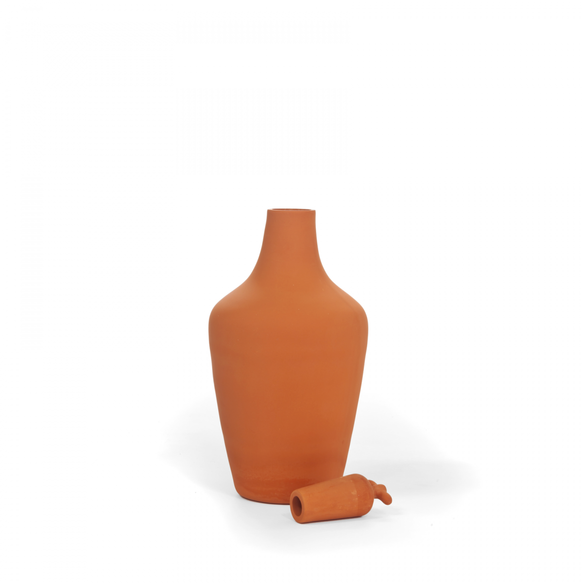 Vij5 Tap Water Carafe Variant Surface Water Karaf Terracotta